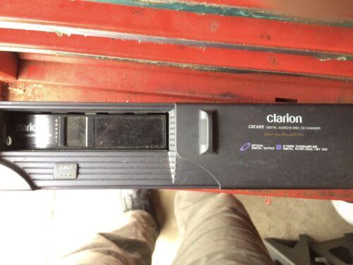 Clarion CDC605 Digital Audio 6-Disk Changer & Disk Magazine for Saab
