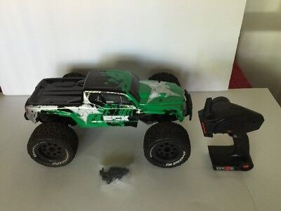 ECX Ruckus RC Remote Control Monster Truck w/ DX2E Contro Radio - Parts / Repair