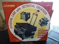 BRAND NEW Universal Cart with Sectional Organizers