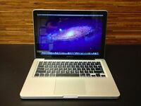 "13.3"" 2.5Ghz Core i5 Apple MacBook Pro 4GB 500GB HDD Izotope QuarkXpress Final Cut Pro X Ableton"