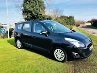 RENAULT GRAND SCENIC EXPRESSION DCI, 1 Former keeper, MOT Feb 2019 (black) 2010