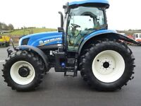 2016 New Holland T6.155 Electro C, 50kph, 430h