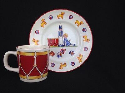 Toys And Co (Tiffany And Co. Tiffany Toys Masons Ironstone England Child's Plate &)