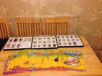 Real Life Bugs & Insects 3 x DISPLAY CASES & 37 BUGS IN RESIN With Magazines