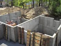 Panneaux a coffrage - Forming panel system for foundations