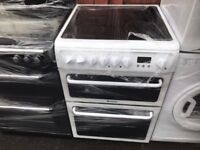 Reconditioned Hotpoint 60cm White Electric Cooker