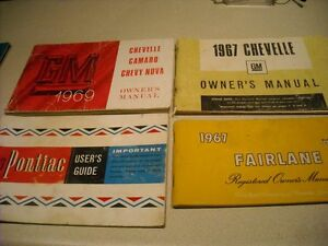 """OLD CAR OWNER""""S MANUAL COLLECTION"""