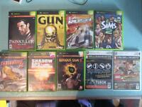 PLAYSTATION 2 GAMES (PS2) ALSO ORIGINAL XBOX