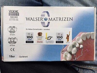 50 Off Walser Dental Matrix Bands Sistem Set Of 18 Compositeamalgam 589