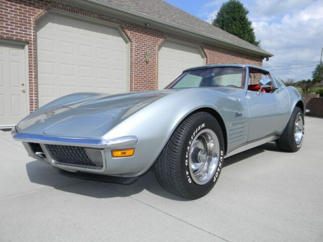Chevrolet : Corvette Stingray 1971 Chevrolet Corvette Stingray Factory Air, T-Tops AM/FM radio Rally #matching