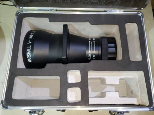 Marshall Electronics 140mm f1.0 lens for night CCD surveillance -very rare item