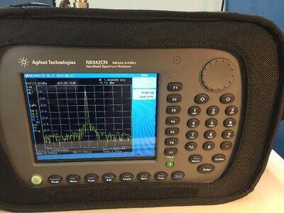 Agilent Hp N9342c N 6 Ghz Hsa Spectrum Analyzer P06 Tg6 506 -calibrated-