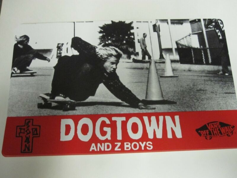 Vans Dogtown And Z Boys 2002 movie plastic display sign Flawless New Old Stock