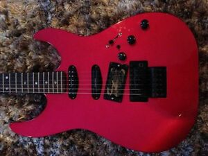 Kramer F6000 1986 (candy red) pick ups Seymour Duncan + Dimarzio West Island Greater Montréal image 2