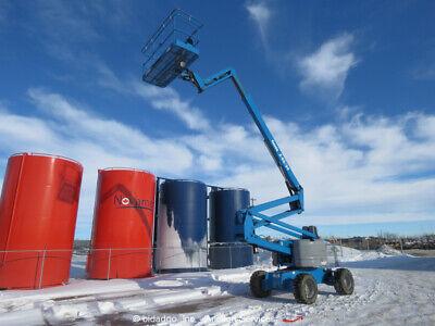 2008 Genie Z6034 60 4wd Diesel Articulating Boom Lift Aerial Manlift Platform