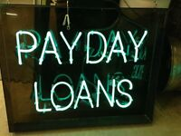 NEON SIGN PAYDAY LOANS