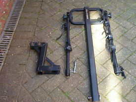 Hollywood Bike Rack (with lightboard) for tow bar, holds 3 bikes