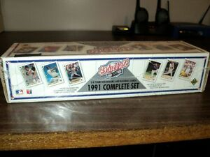 1991 UPPER DECK BASEBALL CARDS Windsor Region Ontario image 2