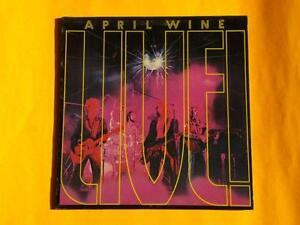 April Wine Vinyl Records