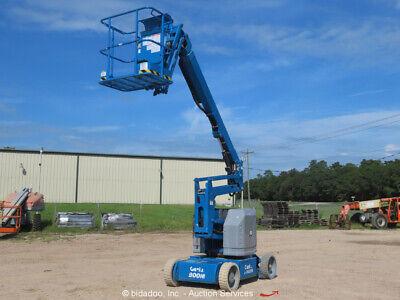 2012 Genie Z-3422n 34 Electric Articulating Boom Lift Man Aerial Bidadoo