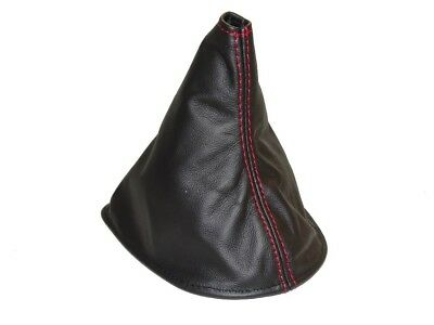 Shift Boot For Toyota Matrix 2003-2008 Leather Red Stitching