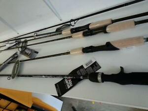 Lots of hihger end fishing rods and reels