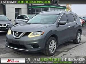2015 Nissan Rogue S AWD | Rear Camera, Bluetooth