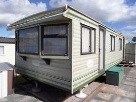 COSALT RIMINI 34' x 10' STATIC CARAVAN / MOBILE HOME (Off Site)