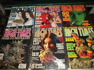 High Times and Cannabis Related Magazines