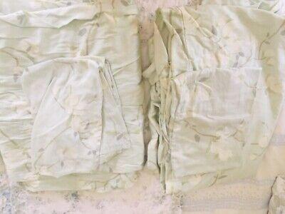 Modern Berries Bedding - Calvin Klein Champagne Berri Combed Cotton Twin Duvet Cover 2pc. Set 1 Sham NWT