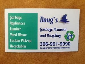 GARBAGE JUNK REMOVAL HAULING WASTE MANAGEMENT