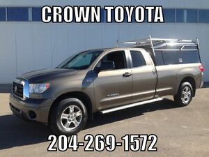 SAFETIED! AS IS/AS TRADED 2007 TOYOTA TUNDRA SR5 DOUBLE CAB 5.7