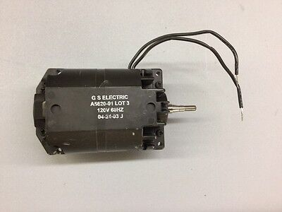 G S Electric A5620-01 120v Electric Vacuum Motor Ameteklamb Wthreaded Shaft