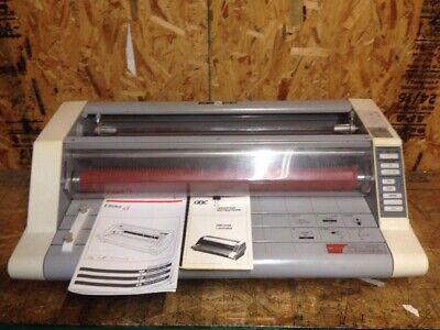 Gbc Heatseal Ultima 65 27 Roll Laminator W Manual