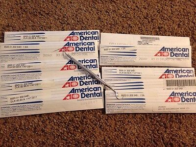 American Dental 23 Explorer Cv4 Peridontal Probe - Lot Of 10 - New
