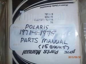 POLARIS  SNOWMOBILE  PARTS MANUALS   1971--1980 Kitchener / Waterloo Kitchener Area image 4