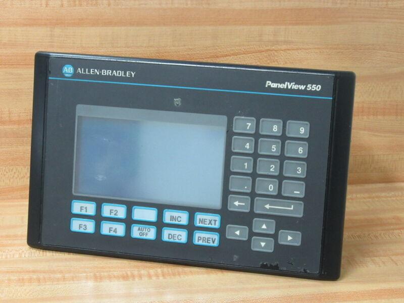 Allen Bradley 2711-K5A2 Operator Interface 2711K5A2 w/o Back Cover