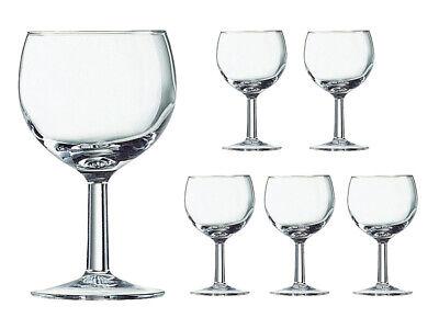 12 Ballon Roweingläser Weingläser Weißwein Gläser Glas Arcoroc 250 ml 25cl