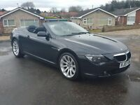 HEADS UP DISPLAY, SAT NAV, DAB, BMW 630i Sport Convertible 2007 P/X, FINANCE, CREDIT CARDS WELCOME
