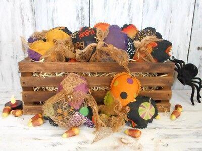 Pattern: Primitive/Craft/Pattern/ Halloween/ Patchwork/ Hearts/ Bowl - Diy Primitive Halloween Crafts