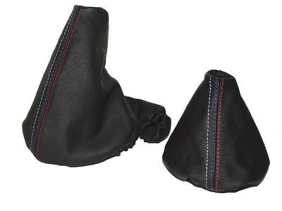 Shift Boot E Brake Boot Set For BMW Z3 1995-2002 Leather M Stitching 13 inch