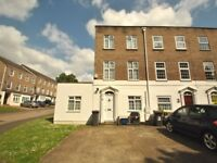 A lovely five bedroom townhouse with three bathrooms and two receptions with off street parking