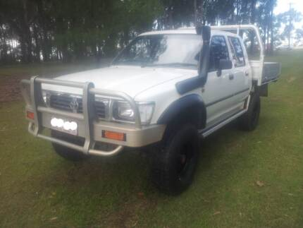 1996 TOYOTA HILUX TURBO DIESEL DUAL CAB, LOW KMS, ONE OWNER!!! Ashmore Gold Coast City Preview