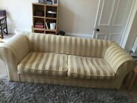 Sofa - Large 3 seat Fendi Sofa - Great Condition