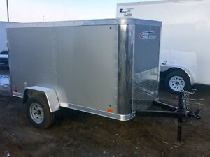 2017 Cross Trailers 48AS Enclosed Cargo Trailer