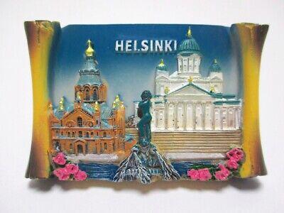 Helsinki Imán Finlandia Souvenir Poli Rollo Finlandia Escandinavia