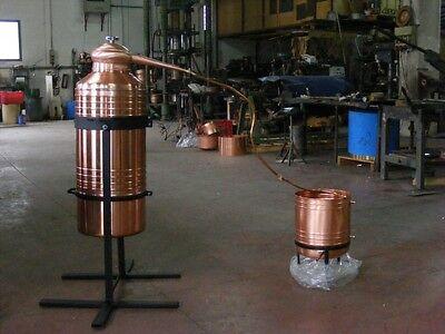 New 20 gallon all Copper Italy Moonshine Still