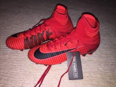 Nike Mercurial Superfly V FG Soccer Shoes, Size 4.5 Men's/6 Womens, Vapor