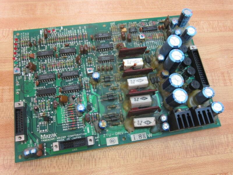 Mazak ZTU-DRIV-3 Control Board ZTUDRIV3