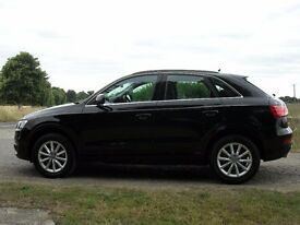 Audi Q3 MANUAL - 18,700 miles - DIESEL BLACK